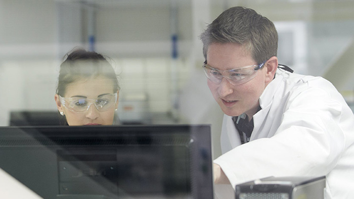A Sheffield Hallam researcher at work